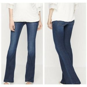 Joe's Jeans The Icon Flare Maternity Blue Jeans